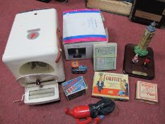 A Collection of Vintage Toys, including a 1950's 'Goblin' washing machine and roller, a Britains