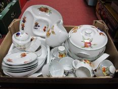 Royal Worcester 'Evesham Vale' Table Pottery, of twenty nine pieces.