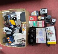 Bell & Howell Sportster, Olympus IS-1000, Kodak and other cameras, accessories:- One Box