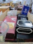 Edinburgh, Thomas Webb, Stuart and Other Glassware, mainly boxed:- One Box