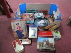 Quantity of Tins, Royalty, Martins, Mackie's, Horner, etc:- One Box