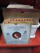 A Collection of Fifty Plus 78's, to include The Student Prince (Colombia), Jack Hylton and His