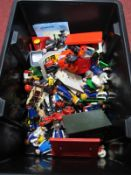 A Quantity of Playmobil Plastic Figures and Accessories, characters including Royalty, Farmer,