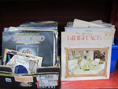 A Quantity of LP's Predominantly Easy Listening and Compilations, to include Lena Martell,