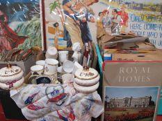 78 RPM Records, Royalty Books, programmes, Wedgwood Unicorn Sauce Pots, ceramics, glassware, Pratt