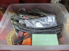 A Quantity of 'OO' Scale Model Railway by Tri-ang and Others, including rolling stock, track,
