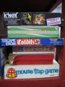 A Quantity of Board Games, Toys, to include Parker Games - Escape From Colditz, Chad Valley - Give a