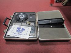 A Sanyo Model G-2311KL-2 Solid State Portable Music Centre, untested sold for parts only.