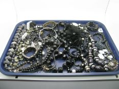 A Mixed Lot of Assorted Modern Costume Jewellery, including large bead necklaces, bracelets,