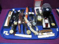 A Selection of Modern Gent's Wristwatches, including Lorus, Sekonda, Citron, etc.