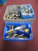 A Quantity of Various Plated Cutlery, including Bruford & Son, A.S Distin Totnes, Vinter's Ltd,