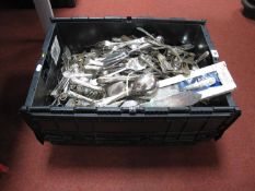 A Quantity of Plated Cutlery, including Pinder Bros Ltd, James Ryals, Treasure Masters, etc, in