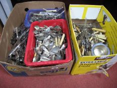 A Quantity of Plated Cutlery, including Unity Sheffield, D&B, Newbridge cutlery, Viners of