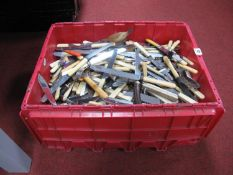 A Quantity of Plated Cutlery, predominantly table knives, including Viners Ltd, Lewis Rose & Co Ltd,