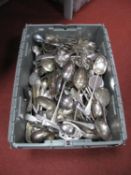 A Quantity of Various Plated Spoons, including Mappin & Webb, Dixon, Gladwin Embassy Plate, Yeoman