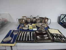 A Matched Set of Six Hallmarked Silver Coffee Spoons, CB&S, Sheffield 1919, 1921, 1923, 1925,