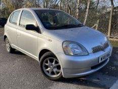 [W146 NWG] 2000 Toyota Yaris 1.3 Automatic 5-door hatchback in Silver, MOT Expired September 18,