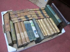 Books - Handbook of The Cathedrals of England, John Murray, London, six volumes late 1860's, Letters