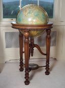 TERRESTRIAL GLOBE ON STAND