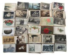 Umfangreiche Sammlung Postkarten