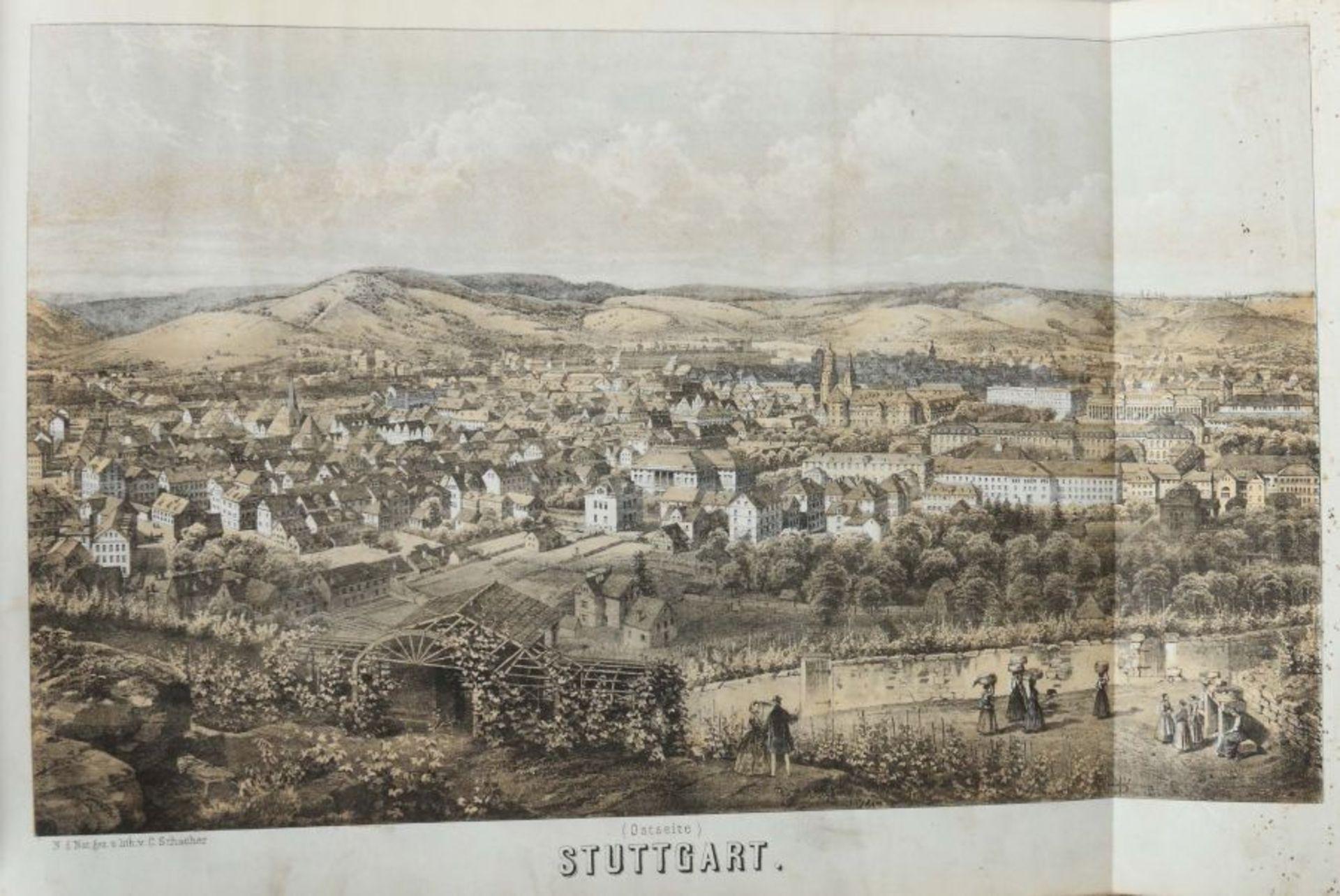 Rachel, Louis Illustrirter Atlas des Königreichs Württemnberg für Schule und Haus mit vielen Kart - Bild 5 aus 6