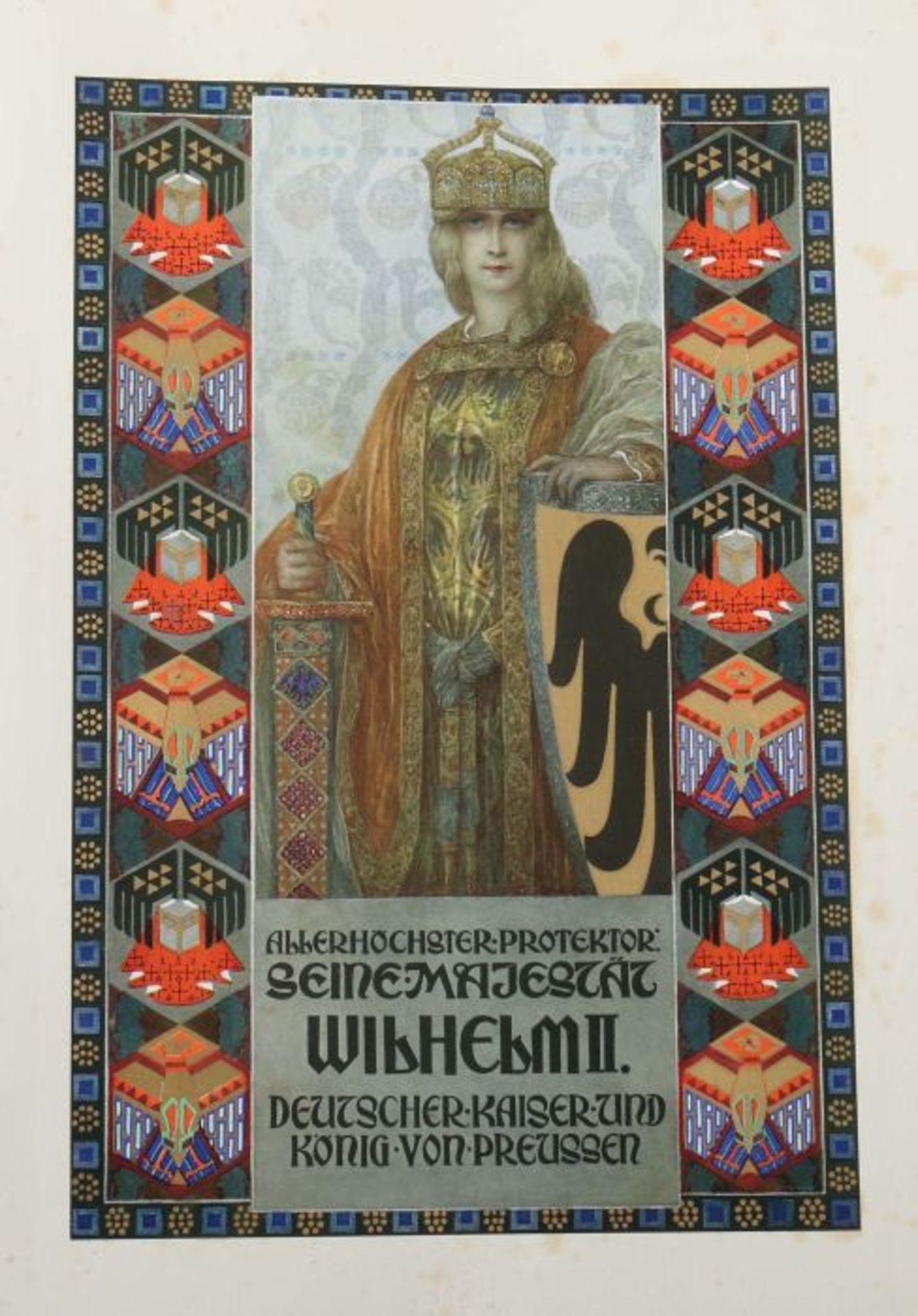 Herzig, Max Deutsche Gedenkhalle - Bilder aus der Vaterlaendischen Geschichte, Leipzig, Brockhaus, - Bild 2 aus 5