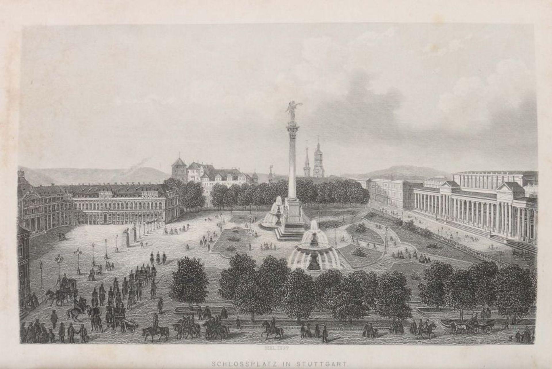 Schwab, Gustav Wanderungen durch Schwaben, vierte vollständig umgearbeitete Auflage von Dr. Karl - Bild 4 aus 4