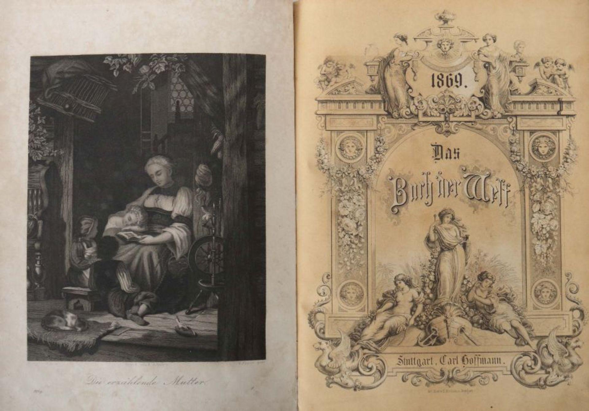 Das Buch der Welt ein Inbegriff des Wissenwürdigsten und Unterhaltendsten aus den Gebieten der - Bild 3 aus 6