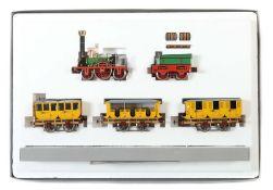 """Zugpackung Märklin, Spur 1, 1985, Nr. 5751 historischer Personenzug """"Adler"""", 175 Jahre Eisenbahn in"""