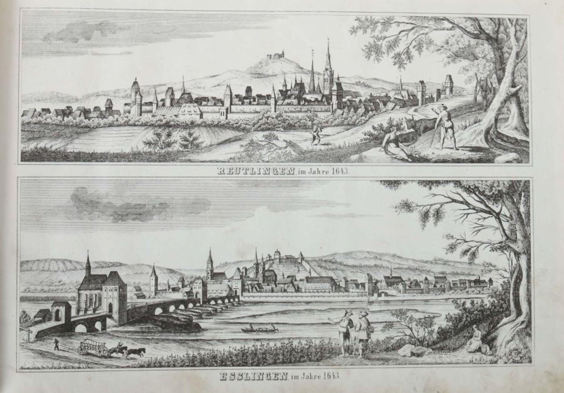 Rachel, Louis Illustrirter Atlas des Königreichs Württemnberg für Schule und Haus mit vielen Kart - Bild 4 aus 6