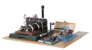 Dampfmaschine, Antriebsmodell Märklin und Wilseco, Dampfmaschine 16051, Replika einer Maschine aus