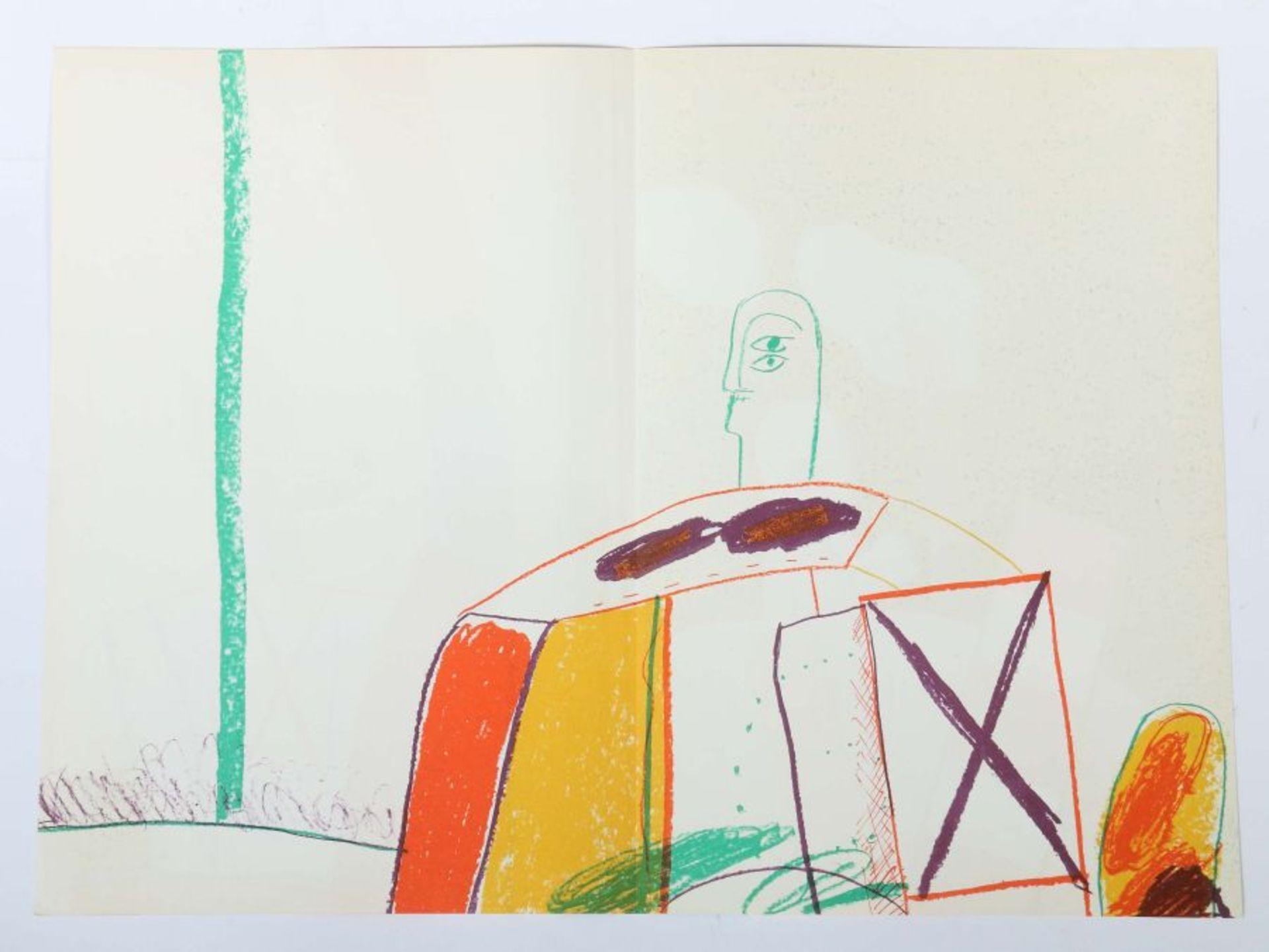 Antes, Horst Geh durch den Spiegel, Folge 36, Bilder aus Florenz und Rom, 1963, Auflage: 250 - Bild 2 aus 4