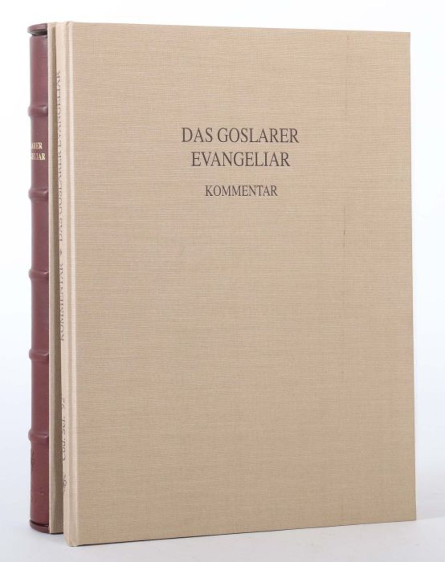 Goslarer Evangeliar Aus dem Stadtarchiv Goslar, Volumen XCII der Reihe Codices Selecti, Goslar/ - Bild 6 aus 6