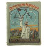 Warenkatalog August Stukenbrok, Einbeck 1907, Katalog mit zahlr. Abb., u.a. Fahrräder,