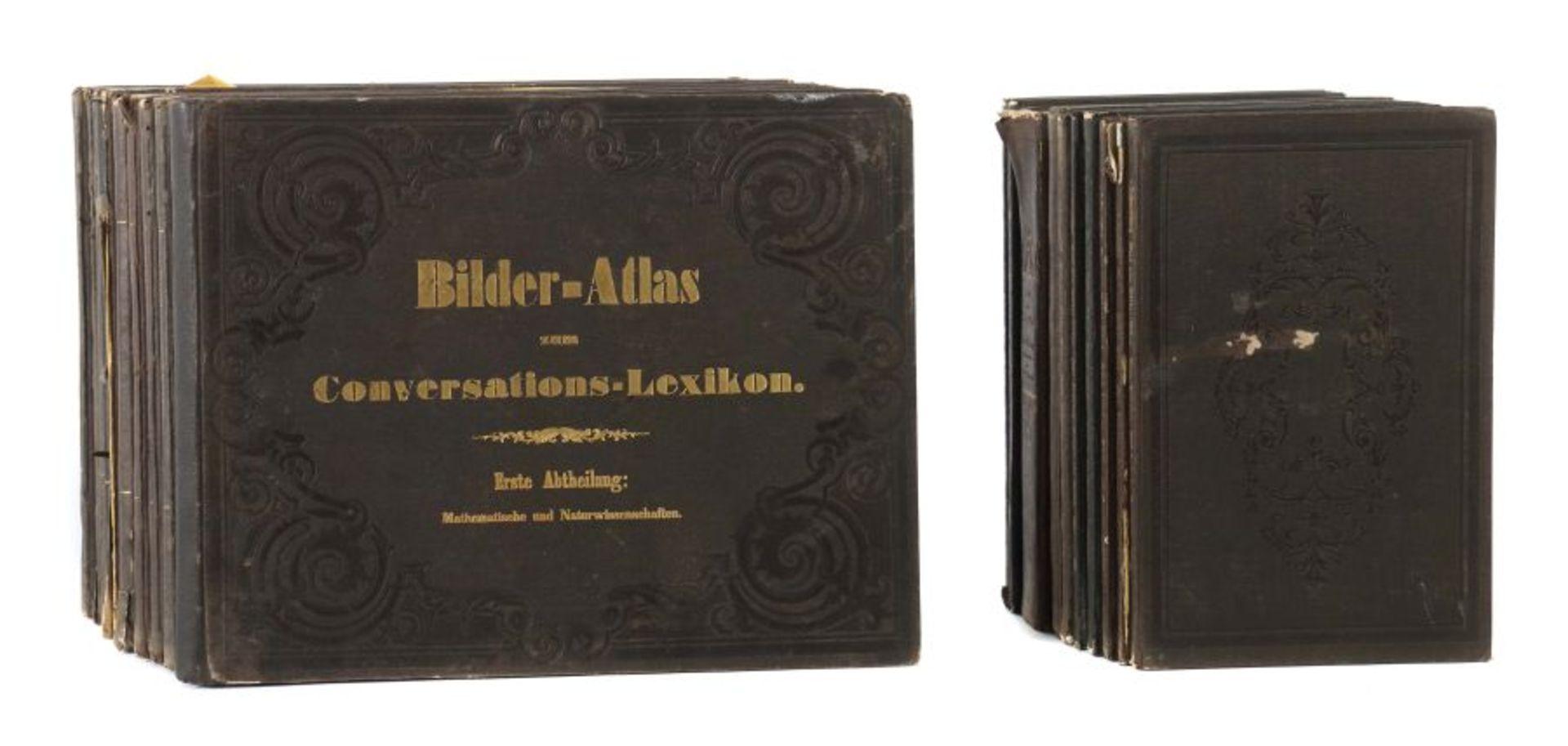 Heck, Johann Georg (bearb.) Bilder-Atlas zum Conversations-Lexikon - Ikonographische Encyklopädie - Bild 2 aus 7