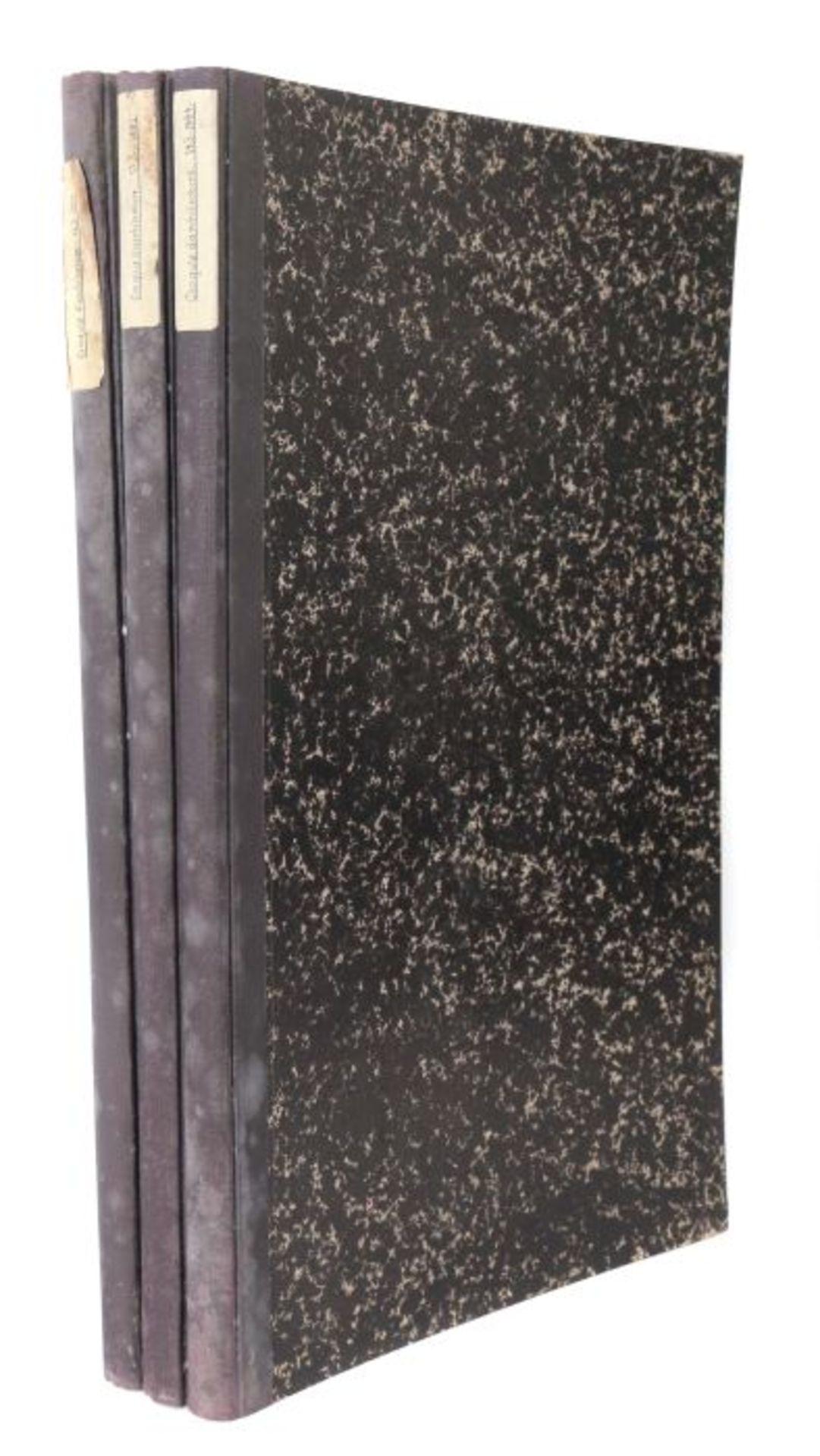 Intime-Club Croquis d'architecture, Publication mensuelle, Paris, 1878/81/84, 3 Bde. (12./15./18. - Bild 6 aus 6