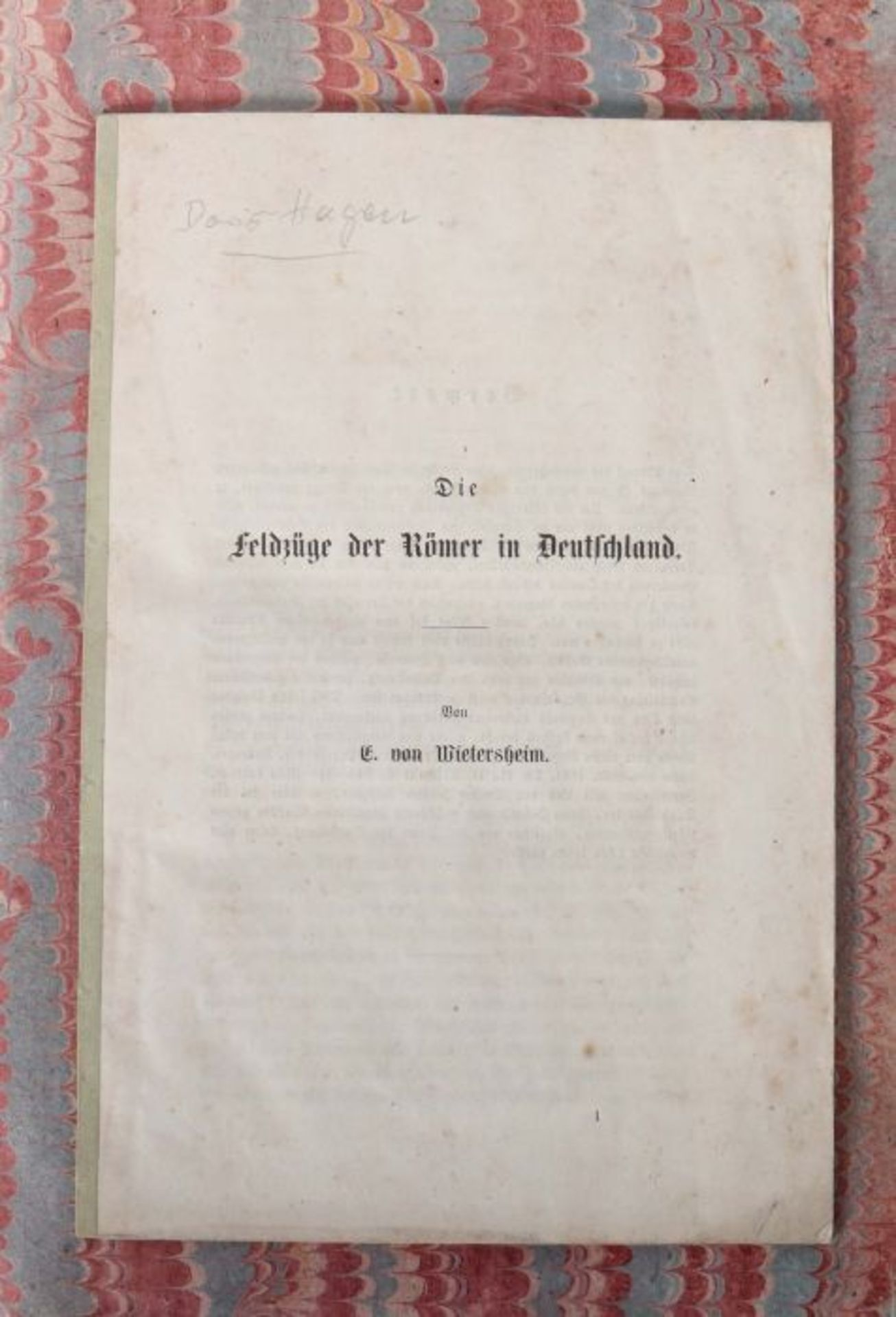 Hanßelmann, Christian Ernst Beweiß, wie weit der Römer Macht in den mit verschiedenen teutschen - Bild 4 aus 4