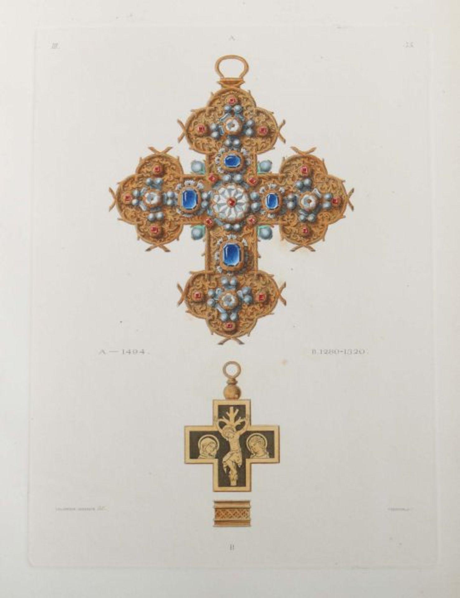 Becker, C. & Hefner, J. von (Hrsg.) Kunstwerke und Geräthschaften des Mittelalters und der - Bild 6 aus 7
