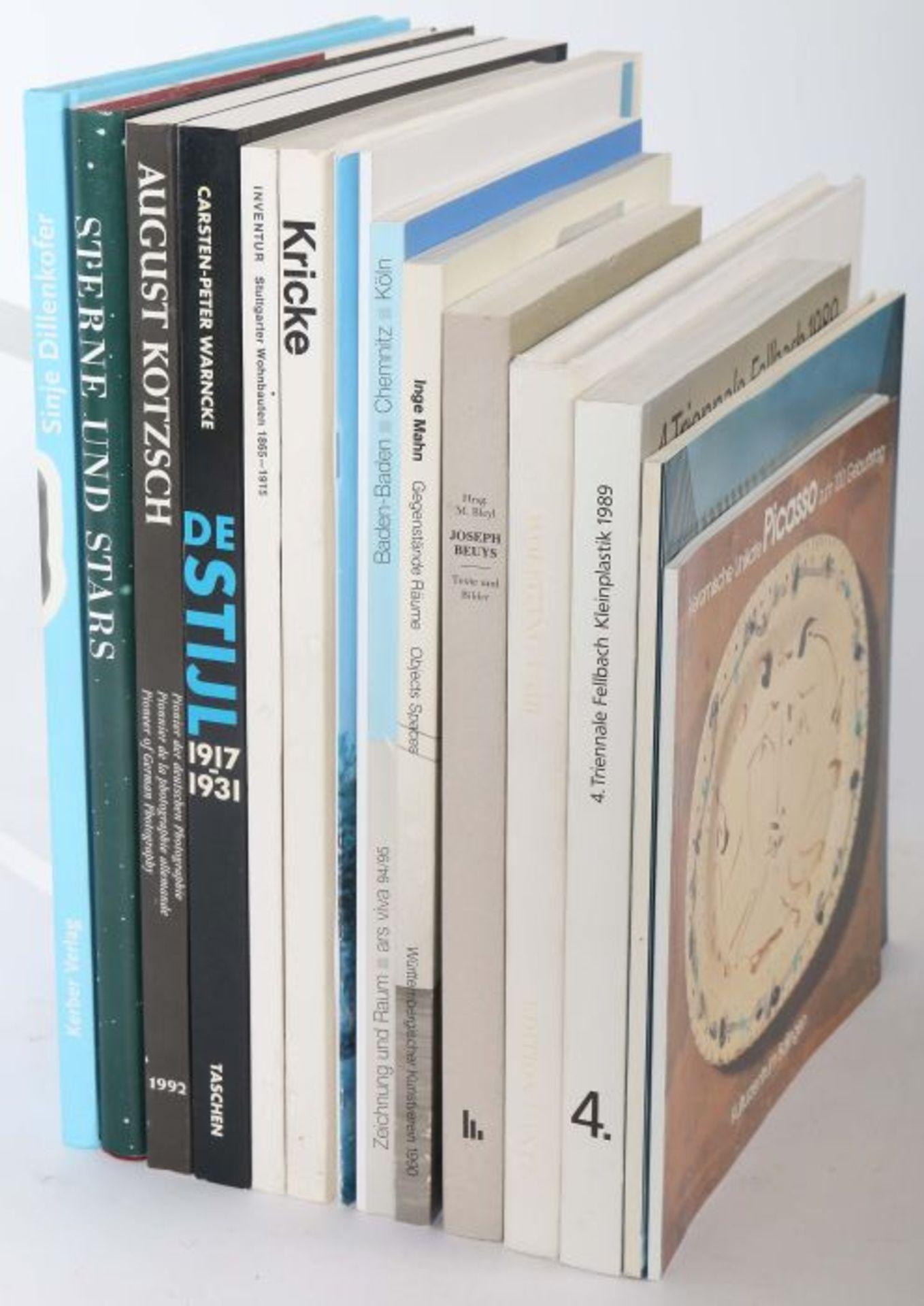 15 Kunstbücher u.a. Bleyl, Joseph Beuys - Der erweiterte Kunstbegriff, Büchner, 1989; Warncke, De - Bild 2 aus 2