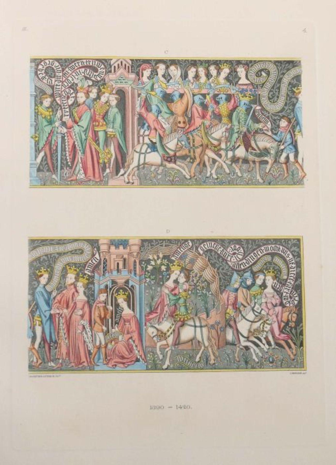 Becker, C. & Hefner, J. von (Hrsg.) Kunstwerke und Geräthschaften des Mittelalters und der - Bild 4 aus 7