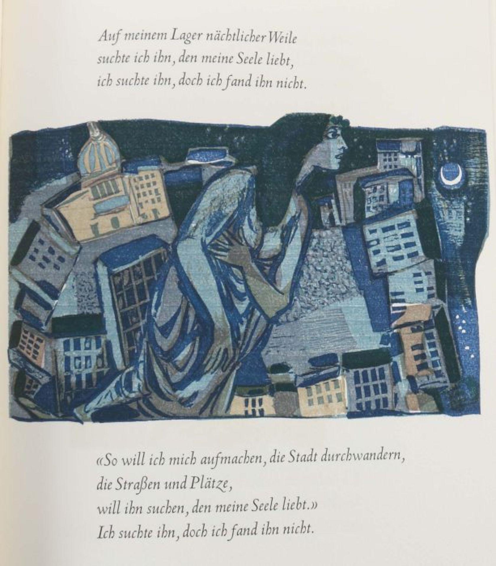 Hoffmann, Felix Das Hohe Lied - Das schönste der Lieder Salomos, Zürich/Stuttgart, Flamberg, 1964, - Bild 3 aus 5