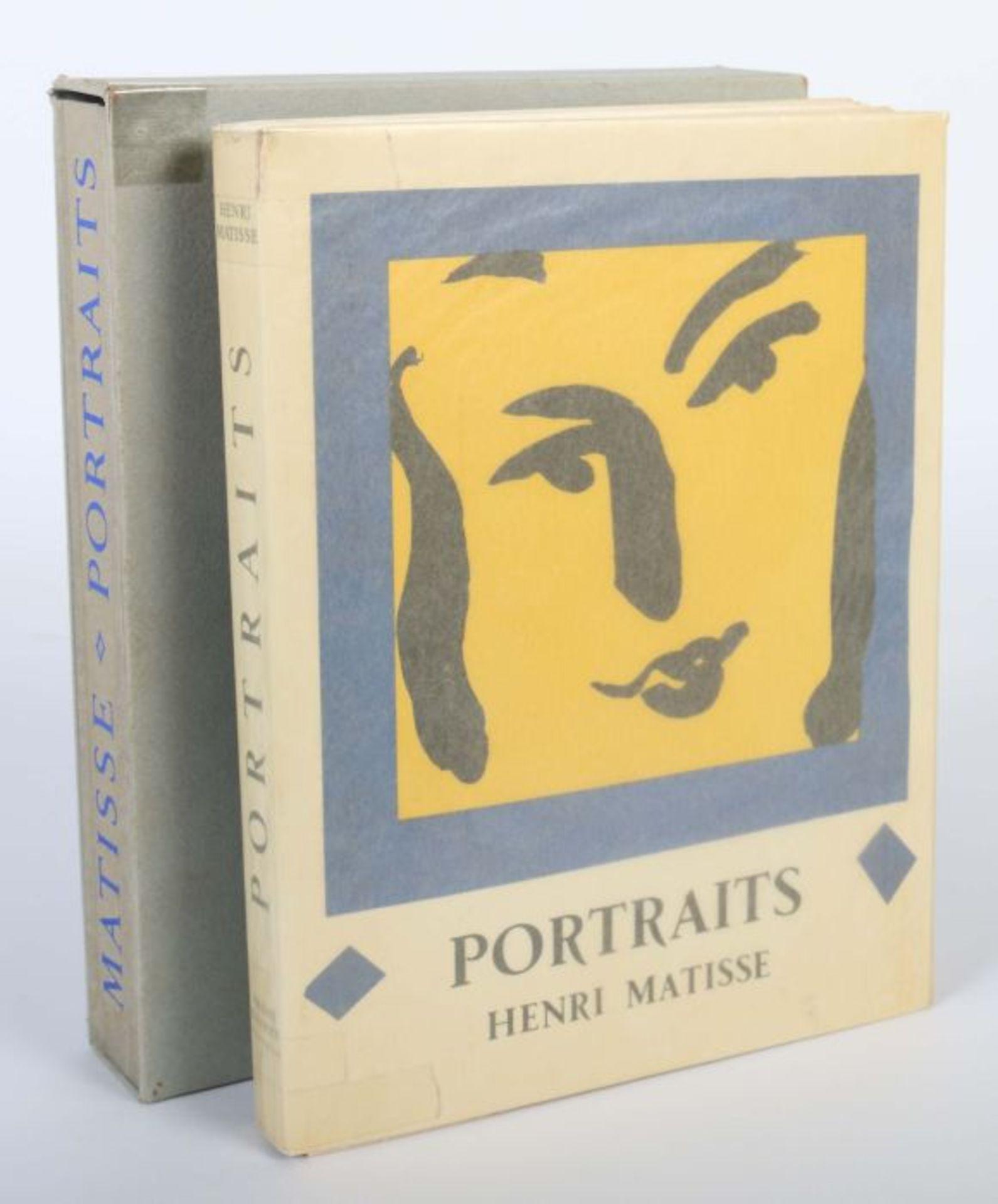Matisse, Henri Portraits, Monte Carlo, André Sauret, 1954, Exp. 2421 von 2850 num. Exp., mit einer - Bild 3 aus 4