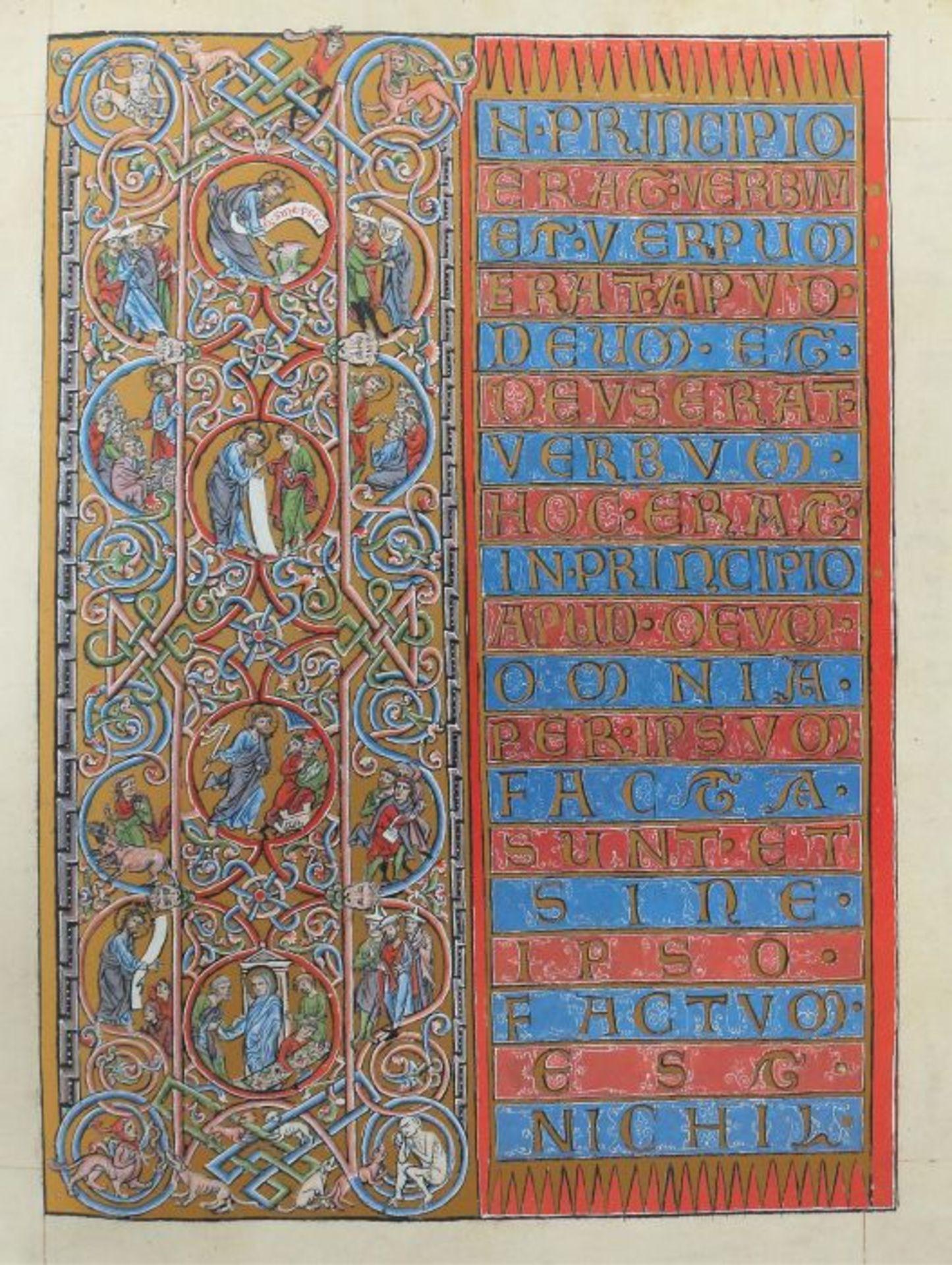 Goslarer Evangeliar Aus dem Stadtarchiv Goslar, Volumen XCII der Reihe Codices Selecti, Goslar/ - Bild 2 aus 6