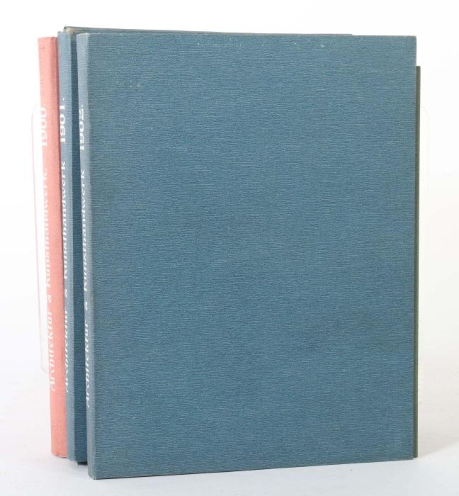 Blätter für Architektur und Kunsthandwerk Oldenbourg/Spielmeyer, Berlin, 1900-02, 3 Bde., je mit - Bild 2 aus 6