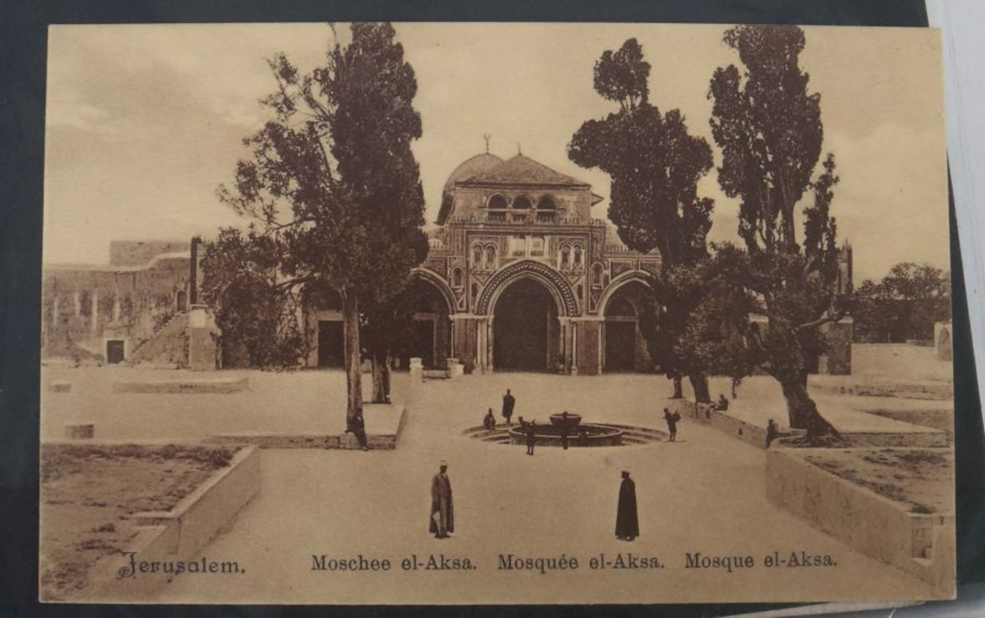 Kleine Postkarten-Sammlung mit ca. 10 handgeschriebenen Briefen um ca. 1900, ca. 55 Postkarten - Bild 3 aus 7