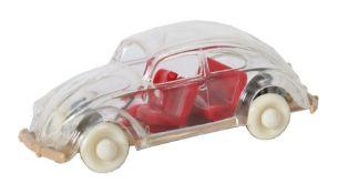 Der gläserne VW Wiking, 1:40, Typ 1, BZ 1949, ohne VW-Emblem, Chassi in Beige, im OK mit kleiner