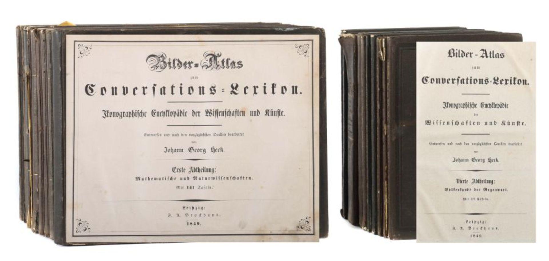Heck, Johann Georg (bearb.) Bilder-Atlas zum Conversations-Lexikon - Ikonographische Encyklopädie