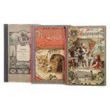 3 Jugendbücher Bilder zum Anschauungsunterricht für die Jugend, Esslingen/Stuttgart, Schreiber, o.