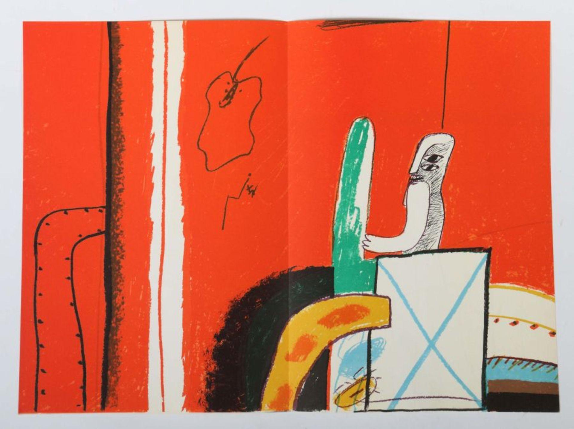 Antes, Horst Geh durch den Spiegel, Folge 36, Bilder aus Florenz und Rom, 1963, Auflage: 250 - Bild 3 aus 4
