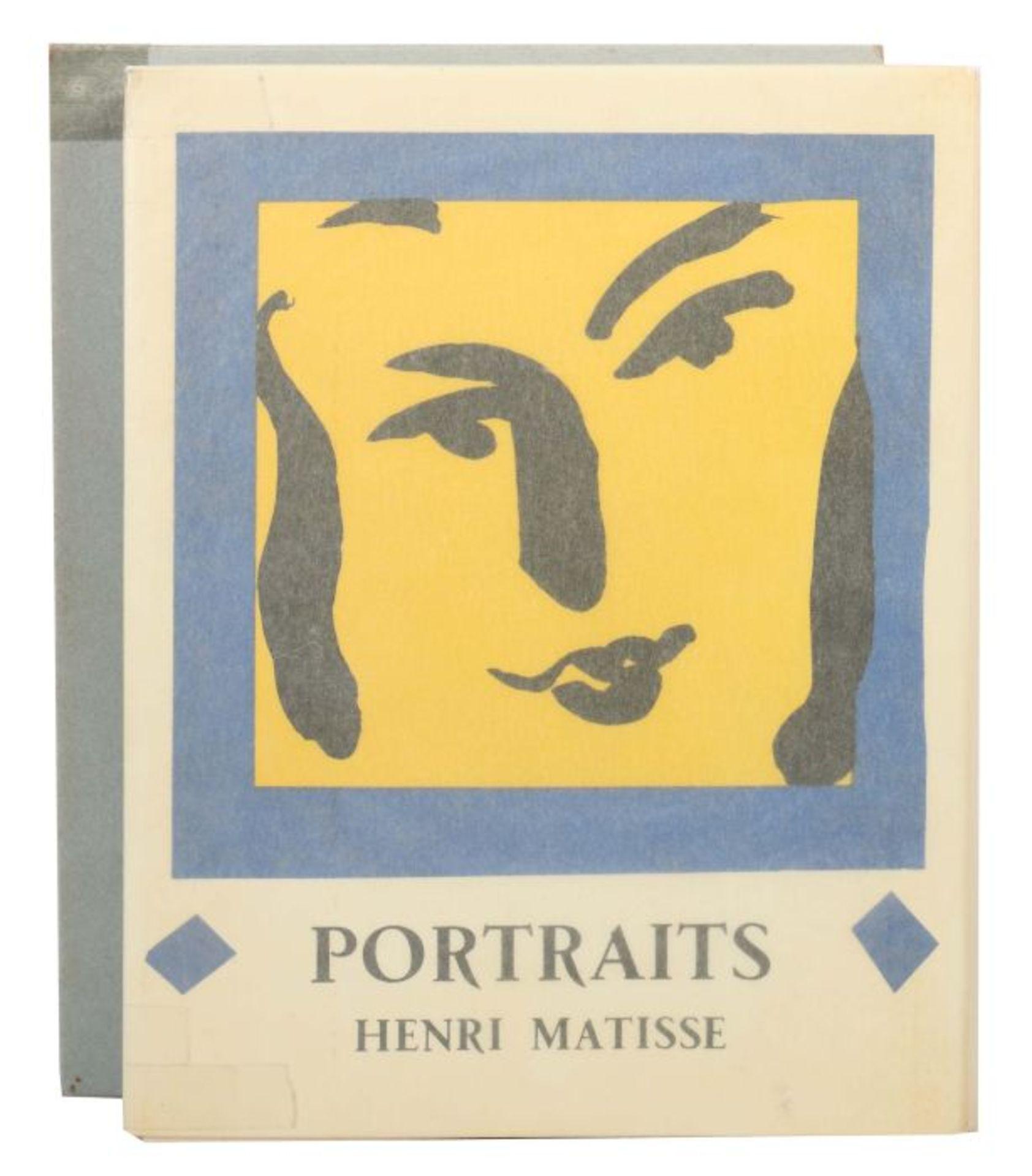 Matisse, Henri Portraits, Monte Carlo, André Sauret, 1954, Exp. 2421 von 2850 num. Exp., mit einer